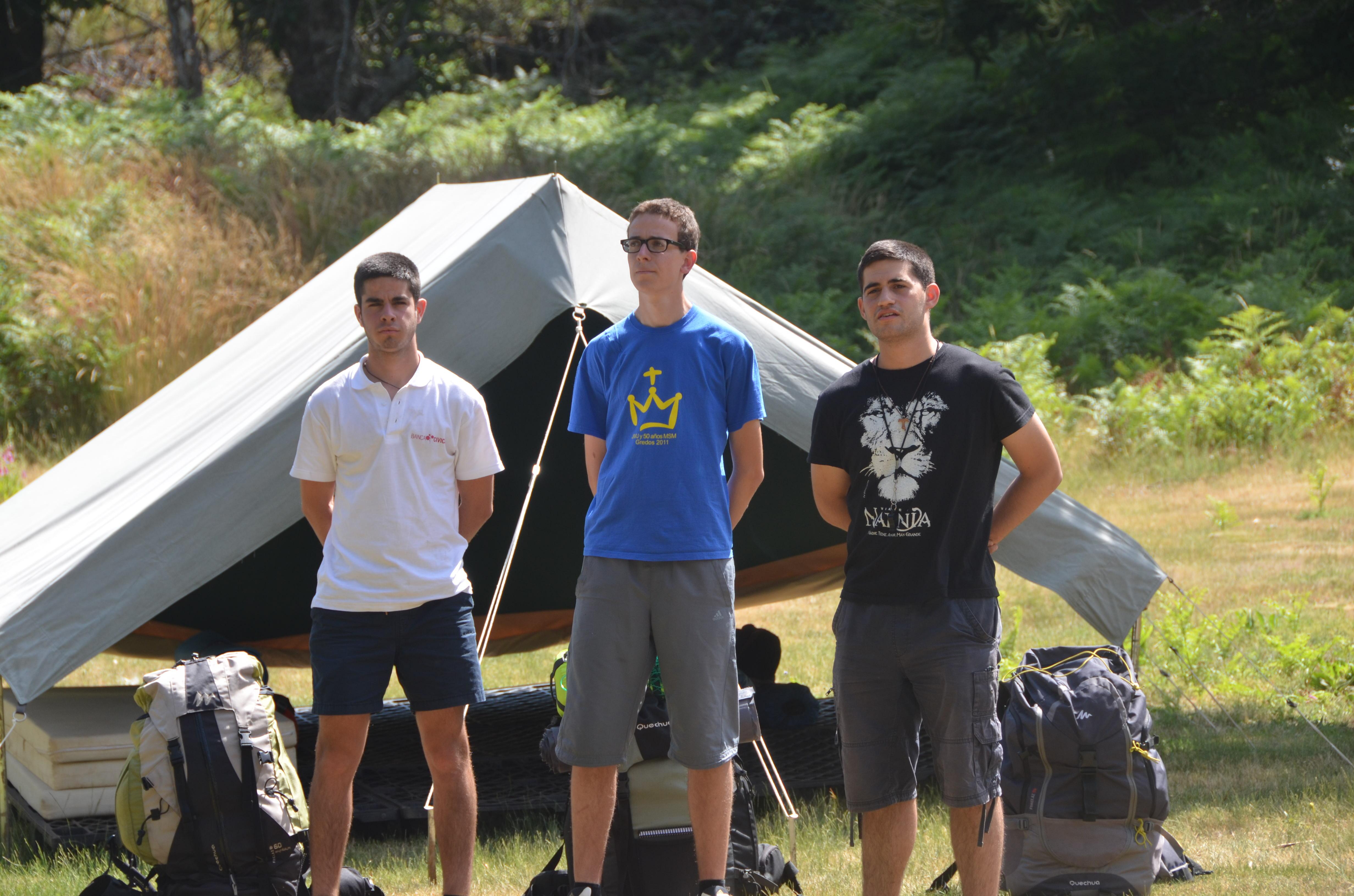 jefes de campamento